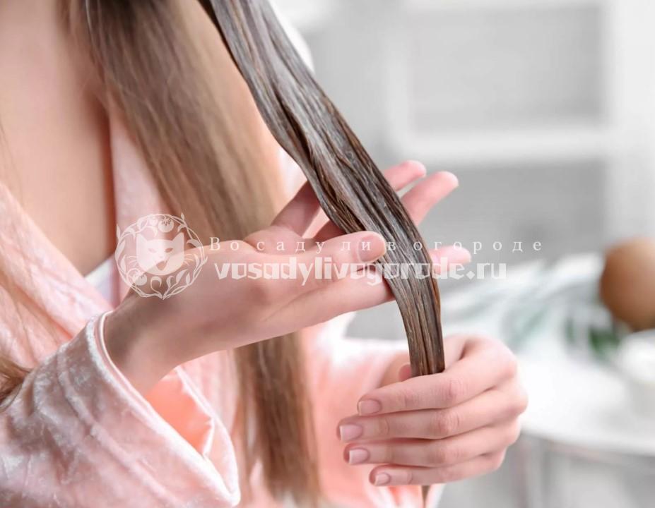 Маска для сухих и поврежденных волос